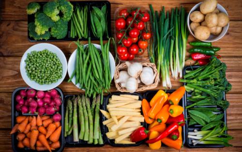 verdure cucina di stagione