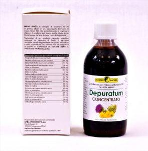 Linea Depuratum - Sciroppi e capsule depurativi e disintossicanti 1